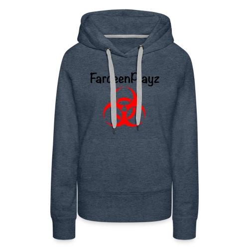 FardeenPlayz At Top W/ Logo - Women's Premium Hoodie