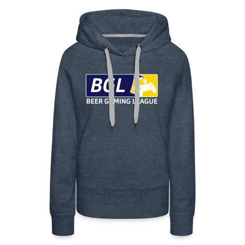 Mens Official Beer Gaming League Shirt - Women's Premium Hoodie