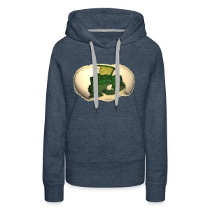 The Emerald Dragon of Nital - Women's Premium Hoodie
