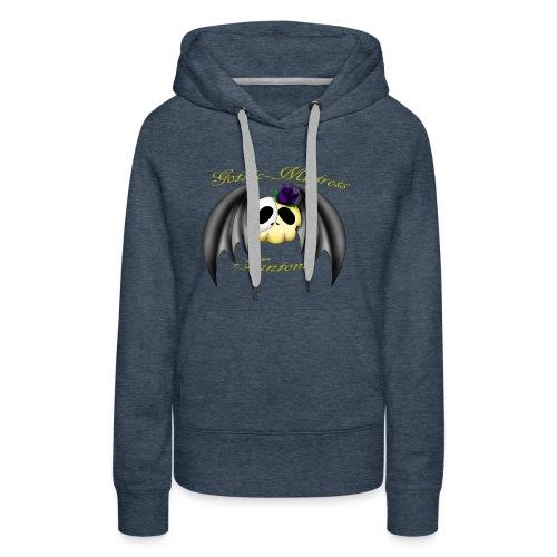 Gothic Mistress Fantom Logo - Women's Premium Hoodie