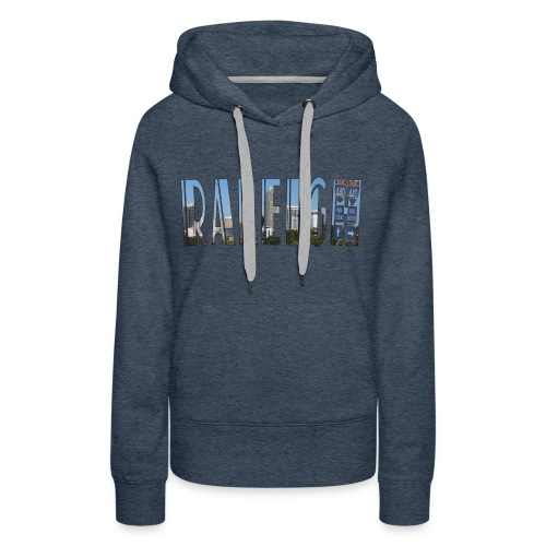 Raleigh Skyline Fall - Women's Premium Hoodie