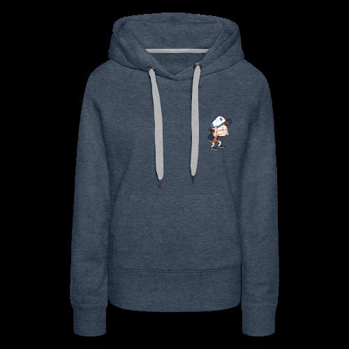 Gravity Falls - Women's Premium Hoodie