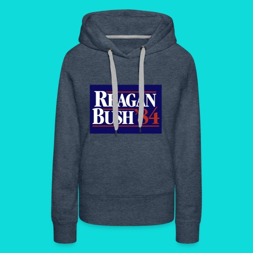 Reagan Bush - Women's Premium Hoodie