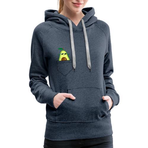 Avocado pocket - Women's Premium Hoodie