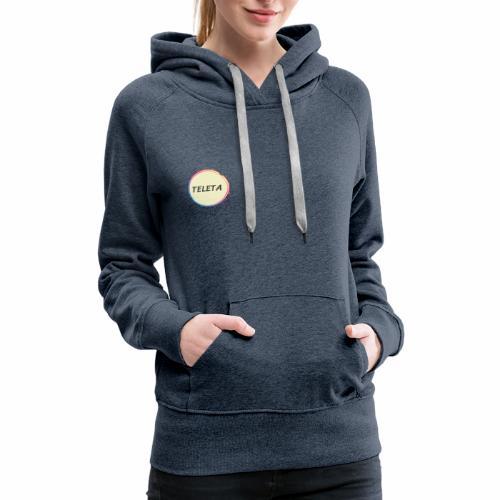 Teleta Logo - Women's Premium Hoodie