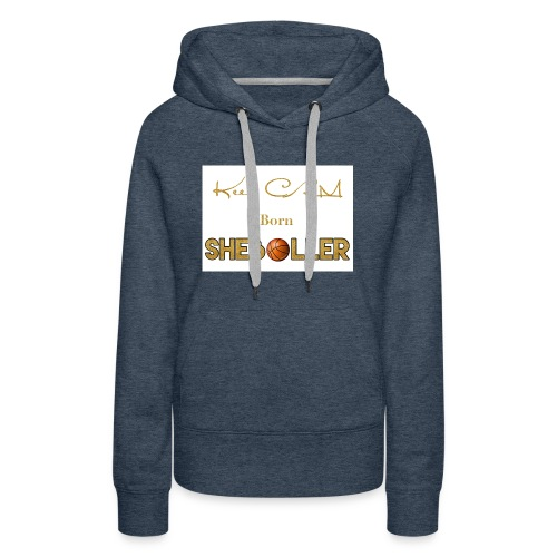 Girl Basketball shirt - Women's Premium Hoodie
