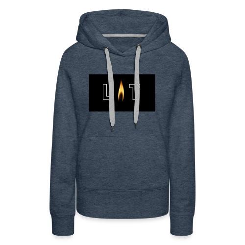 LIT LOGO DESIGN - Women's Premium Hoodie