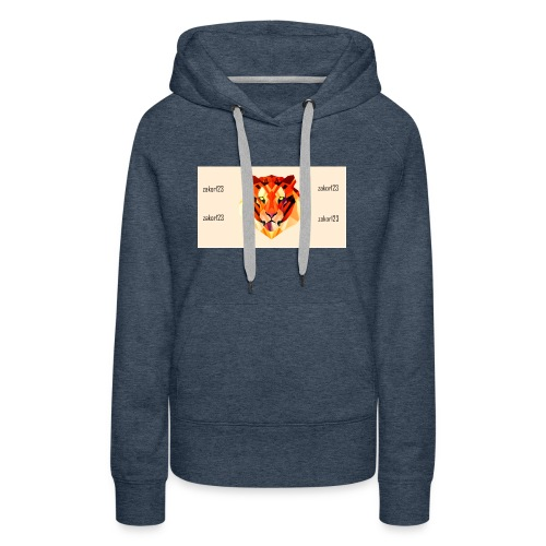 zakor´s123 official T-shirt - Women's Premium Hoodie