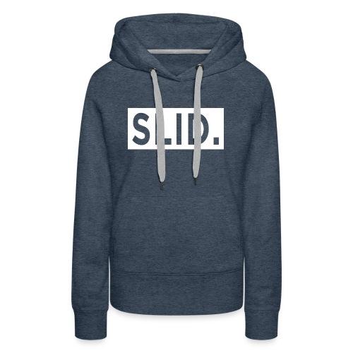 WHITE SLID. - Women's Premium Hoodie