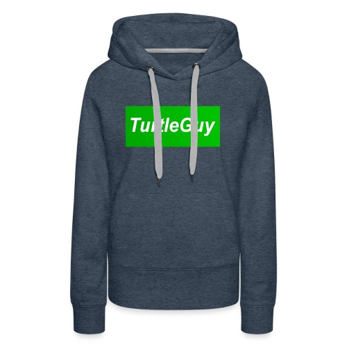 TurtleGuyYT Fan LOGO - Women's Premium Hoodie