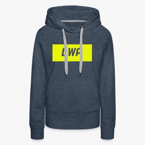 gwp yellow - Women's Premium Hoodie