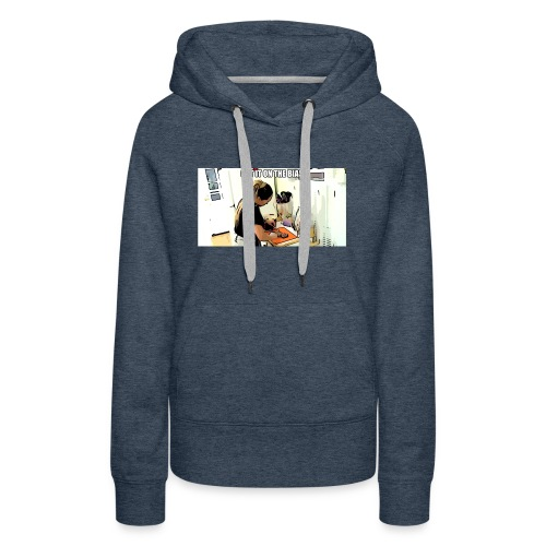 Cut it on the bias - Women's Premium Hoodie
