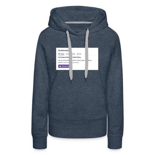 twitch prime - Women's Premium Hoodie
