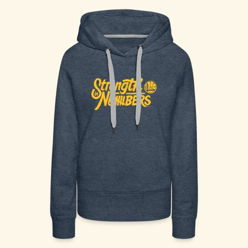 strength in numbers golden states - Women's Premium Hoodie