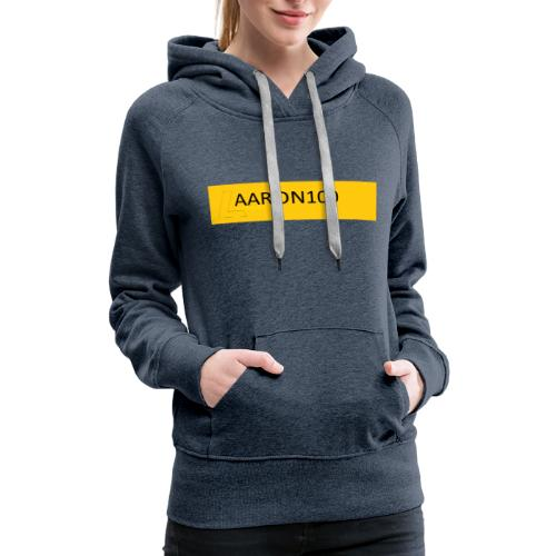 bold out gold AARON100 MERCHANDISE - Women's Premium Hoodie