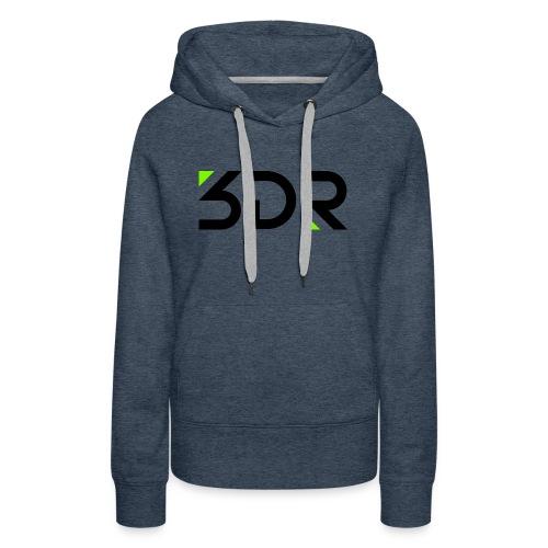 3dr logo - Women's Premium Hoodie