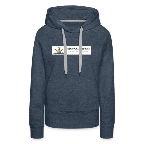 Wanyheadpress Logo - Women's Premium Hoodie