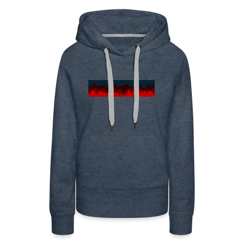 Paint the Town RED - Women's Premium Hoodie