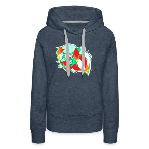 Psychedelic Lion - Women's Premium Hoodie
