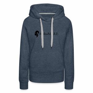 alphaMARE emblem left - Women's Premium Hoodie