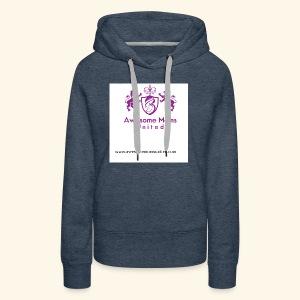Awesome Moms United logo shirt - Women's Premium Hoodie