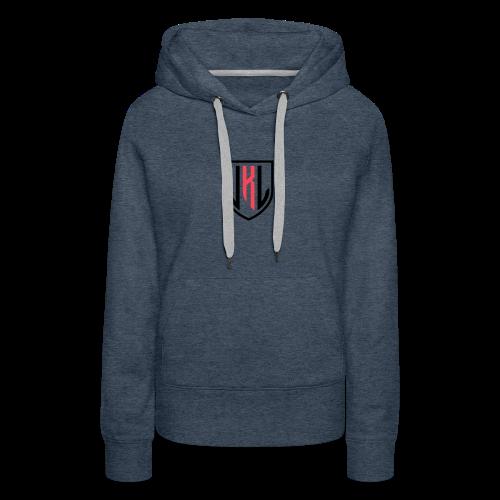 JKL typography logo - Women's Premium Hoodie