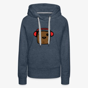 Shirt Design Potato - Women's Premium Hoodie