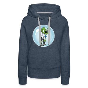 Zombie in a bubble - Women's Premium Hoodie