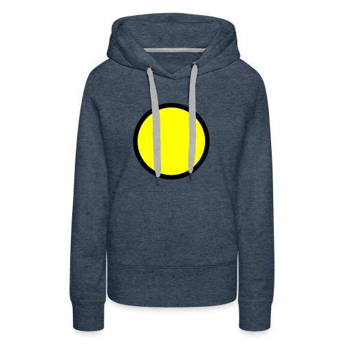 Circle yellow svg - Women's Premium Hoodie