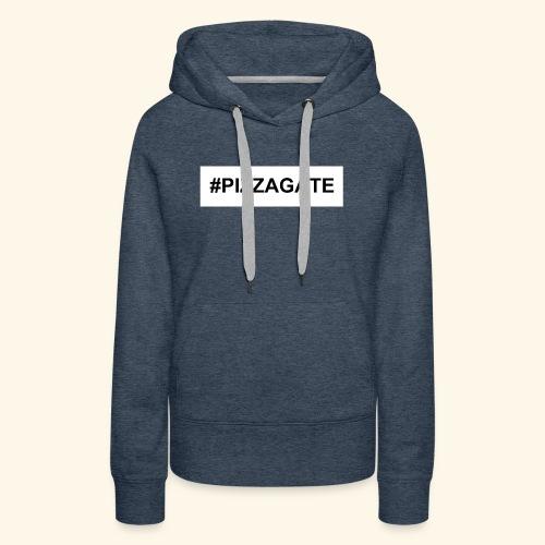 #PIZZAGATE CLASSIC BOX - Women's Premium Hoodie