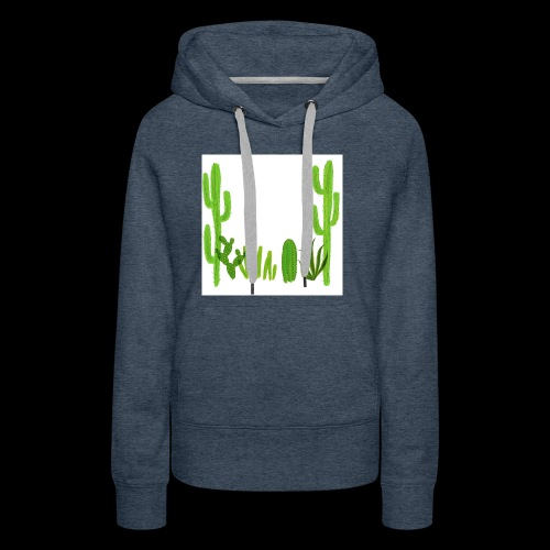cacti shirt - Women's Premium Hoodie