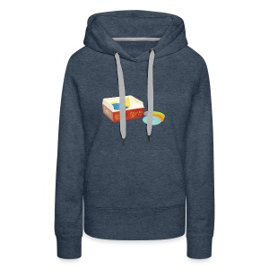Toy Record Player - Women's Premium Hoodie