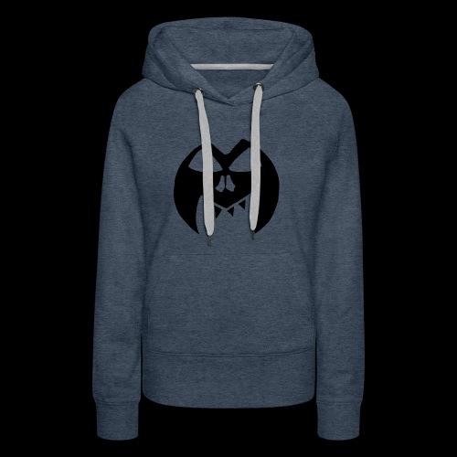 Black Transparent Logo - Women's Premium Hoodie