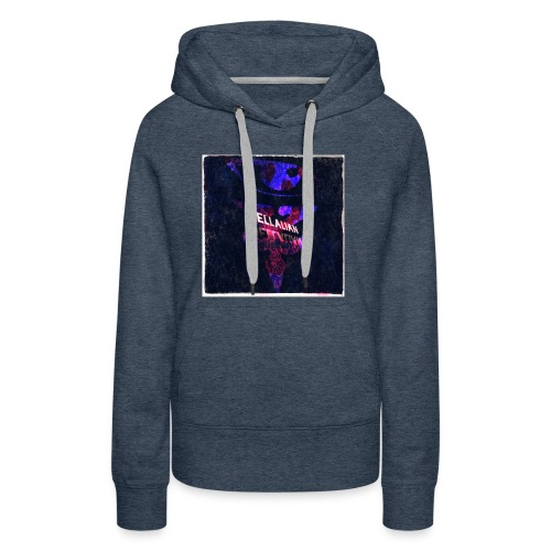 JELLALIAN OFFICIAL(COLOR BLAST EDITION) - Women's Premium Hoodie