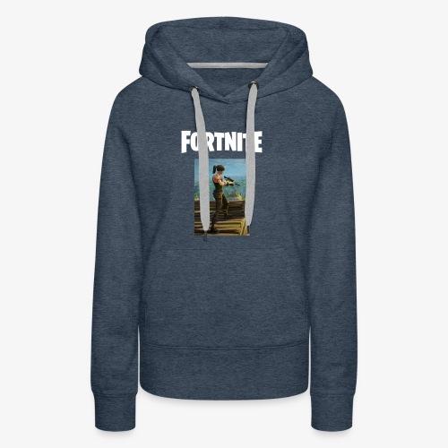 fortnite sniper tee - Women's Premium Hoodie