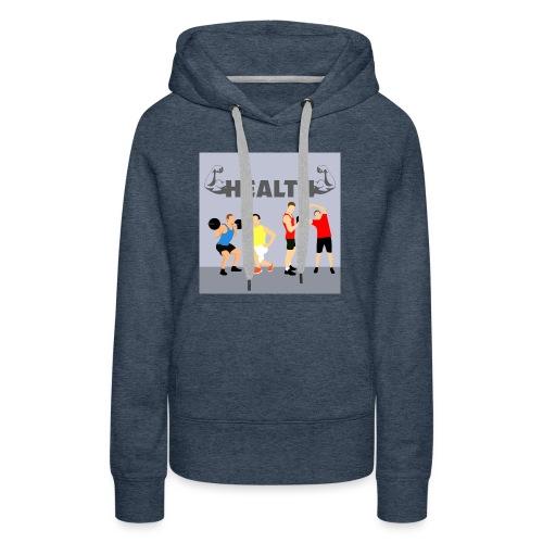 Gym wear present for everyone gift idea - Women's Premium Hoodie