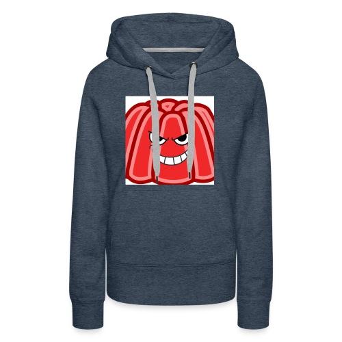 Red jelly kids hoodie - Women's Premium Hoodie