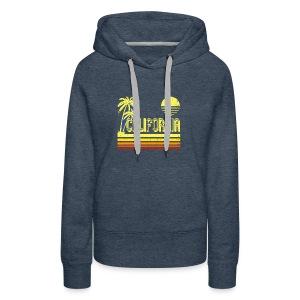 T Shirt Vintage California distressed look - Women's Premium Hoodie