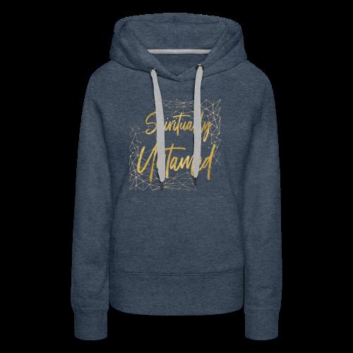 Spiritually Untamed Gold 1 - Women's Premium Hoodie