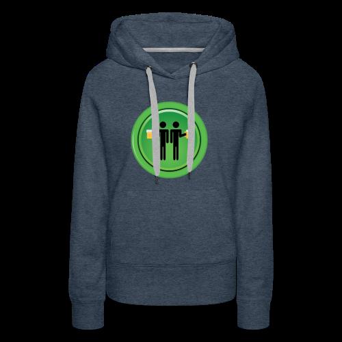 Drinking Buddies Green - Women's Premium Hoodie