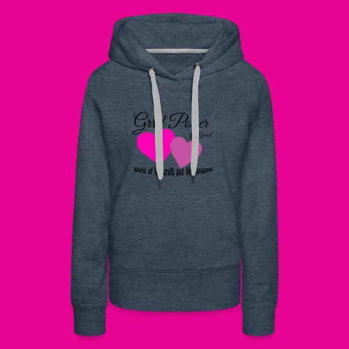 GrrrL Power - WoW - Women's Premium Hoodie
