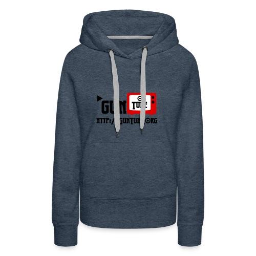GunTube Shirt with URL - Women's Premium Hoodie