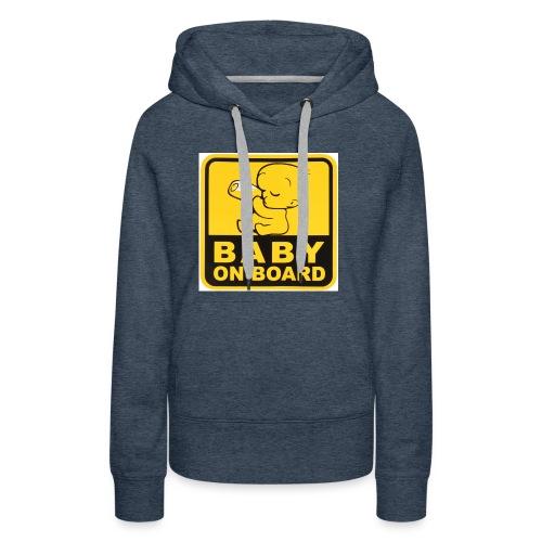 baby inside - Women's Premium Hoodie