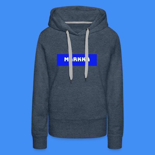 Markka Box Design - Women's Premium Hoodie