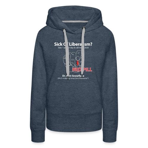 RedPill tshirt black tees - Women's Premium Hoodie