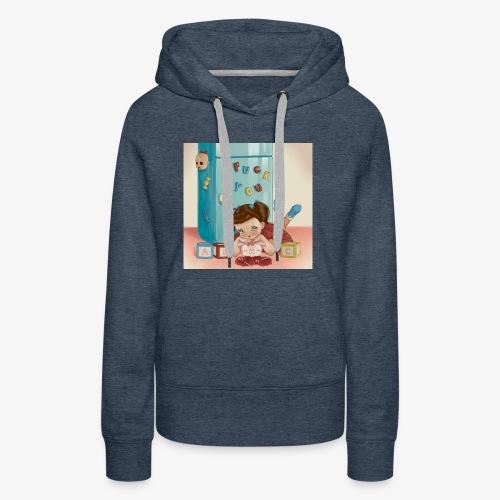 Alphabet Boy - Women's Premium Hoodie