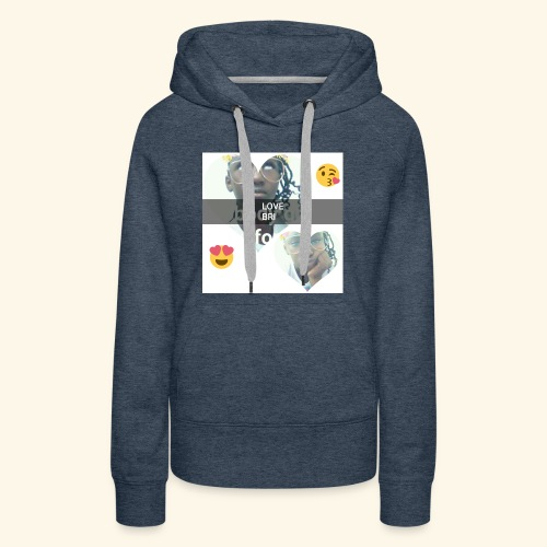 The i don't care look. - Women's Premium Hoodie