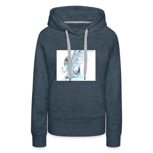 Little dude griffins and dragons 30659635 1004 791 - Women's Premium Hoodie