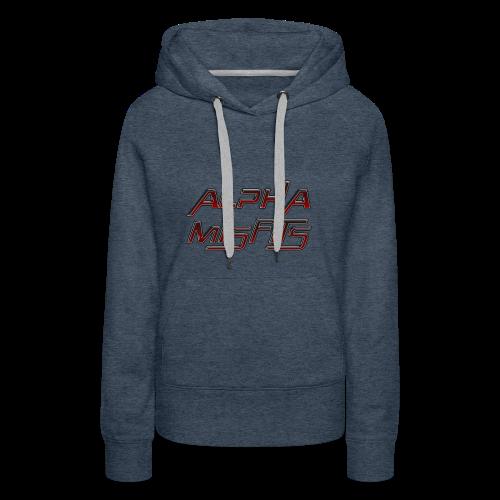Alphamisfits Name Logo - Women's Premium Hoodie
