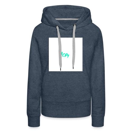 Icey logo - Women's Premium Hoodie